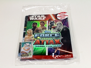STAR WARS Force Attax kezdőcsomag