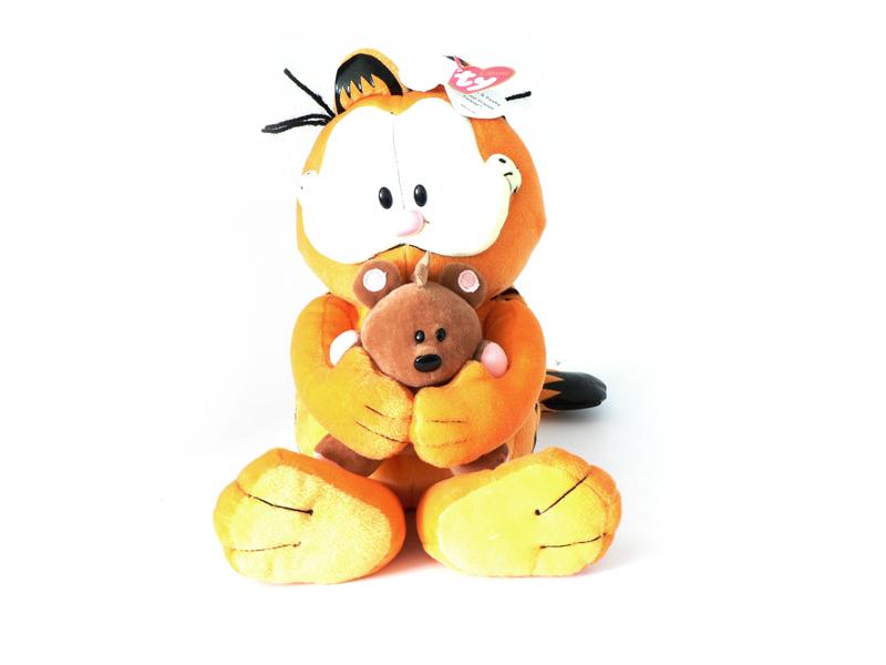 Garfield plüss figura és Pooky 5ef888659f