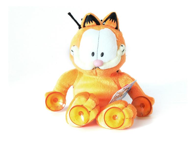 Garfield plüss figura tapadókorongos 26740a0920