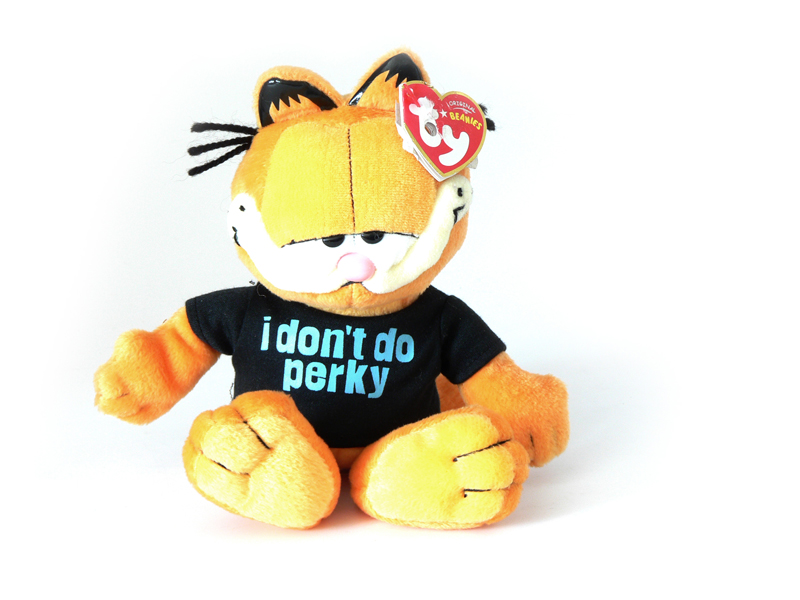 Garfield plüss figura pólós 117c0397cb