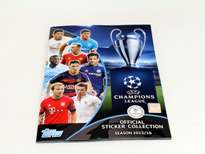 Match Attax Champions League matricás album
